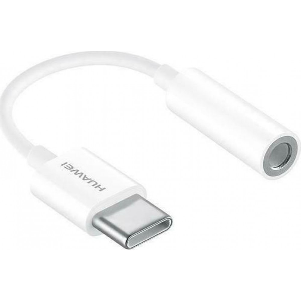 Adapter Huawei CM20 USB-C to Aux 3.5mm Retail - Λευκό