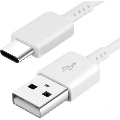 Καλώδιο Φόρτισης Samsung (EP-DW700CWE) USB-C 1.5m Bulk - Λευκό