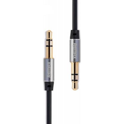 Καλώδιο Remax Aux 3.5mm male - 3.5mm male 1m (RM-L100) - Μαύρο