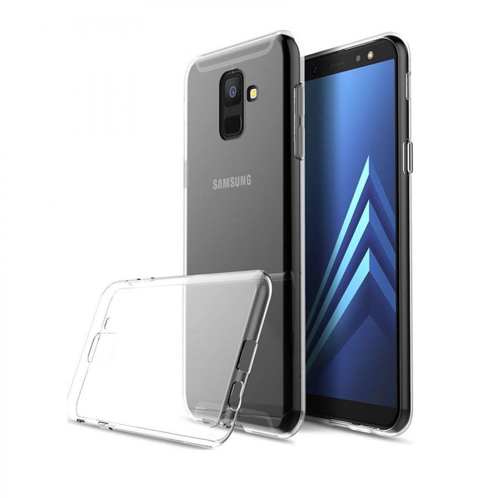 Θήκη Back Cover Σιλικόνης για Samsung Galaxy A6 2018 - Διάφανο