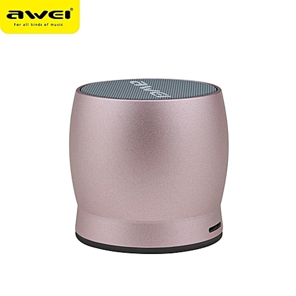 Φορητό Ηχείο Bluetooth 5W Awei Y500 - Ροζ
