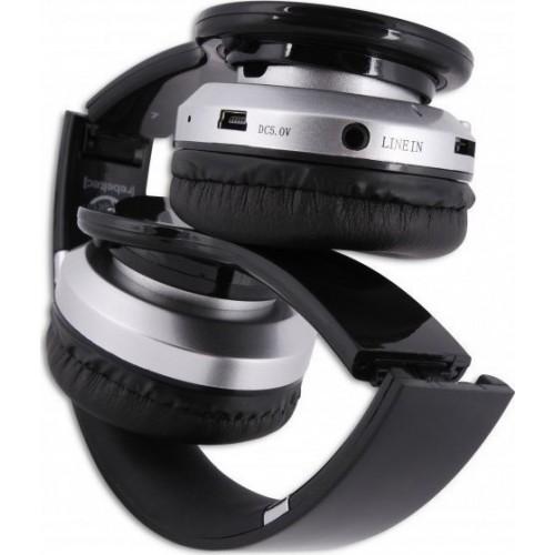 Rebeltec Wireless Headphones Crystal (RBLSLU00017) - Μαύρο