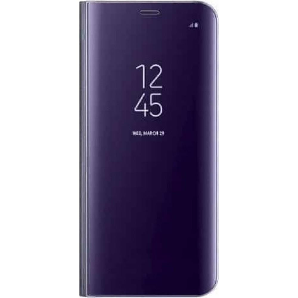 Θήκη Clear View Cover Για Samsung Galaxy A6 2018 - Μωβ