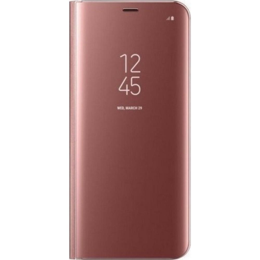 Θήκη Clear View Cover Για Samsung Galaxy Note 9 - Ροζ Χρυσό