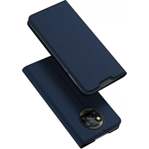 Θήκη Dux Ducis Skin Pro Book για Xiaomi Poco X3 NFC - X3 Pro - Μπλέ
