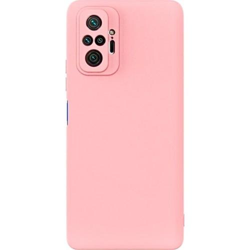 Θήκη Flexible TPU Back Cover Σιλικόνης για Xiaomi Redmi Note 10 Pro - Ροζ Matte