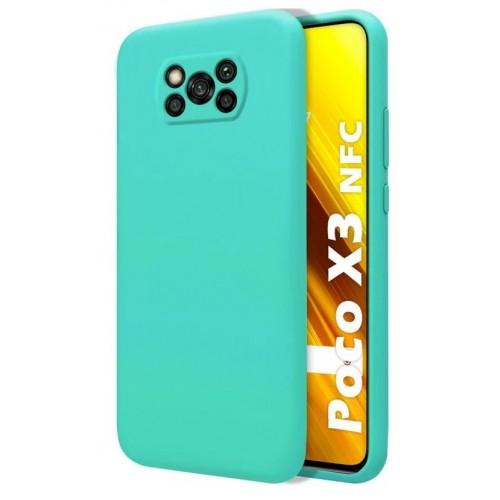 Θήκη Flexible TPU Σιλικόνης για Xiaomi Poco X3 NFC - X3 Pro - Τιρκουάζ Matte