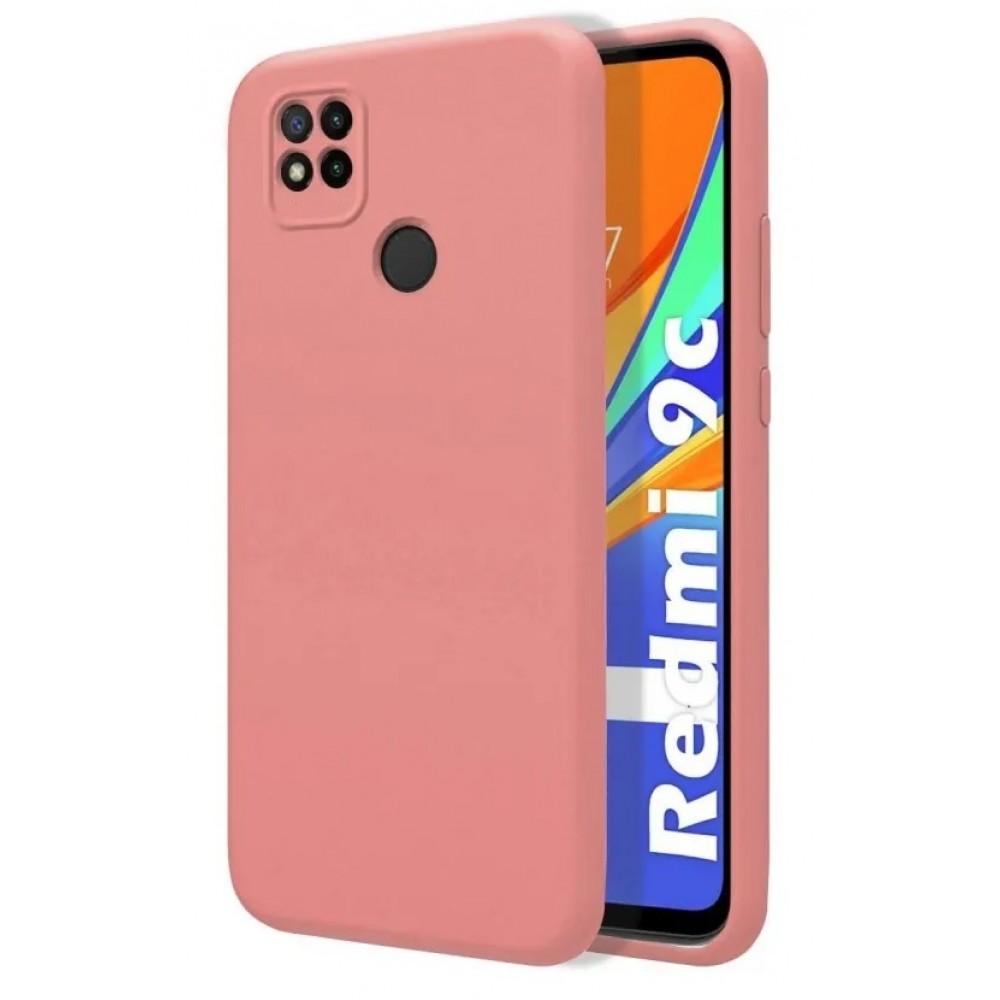 Θήκη Flexible TPU Σιλικόνης για Xiaomi Redmi 9C - Ροζ Matte