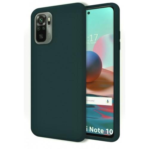 Θήκη Flexible TPU Back Cover Σιλικόνης για Xiaomi Redmi Note 10 Pro - Forest Green Matte