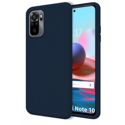 Θήκη Flexible TPU Back Cover Σιλικόνης για Xiaomi Redmi Note 10 Pro - Navy Blue Matte