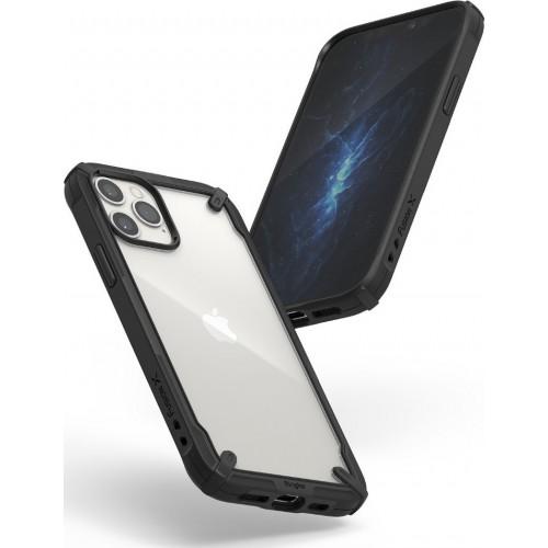 Θήκη Ringke® Fusion X Back Cover για iPhone 12 - 12 Pro - Black
