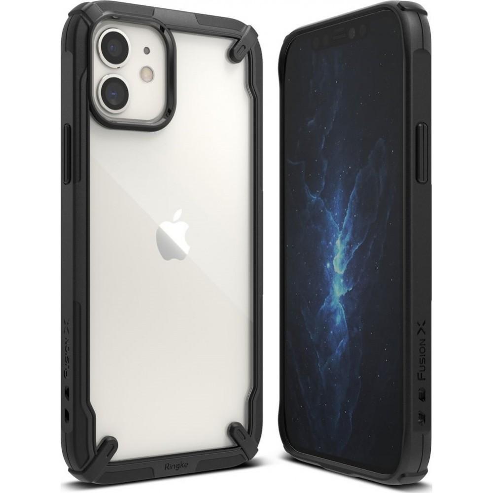 Θήκη Ringke® Fusion X Back Cover για iPhone 12 Mini - Black