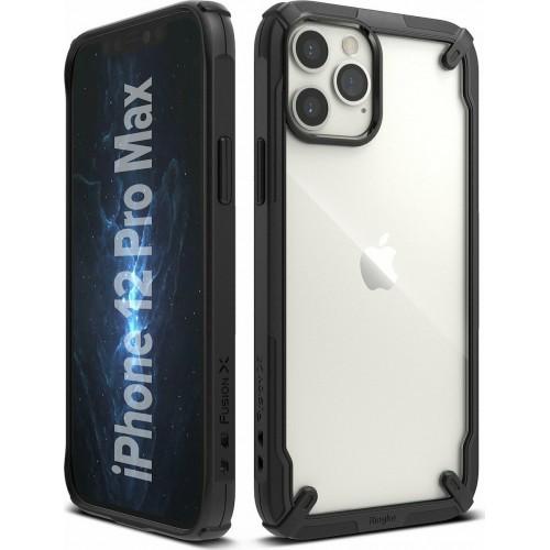 Θήκη Ringke® Fusion X Back Cover για iPhone 12 Pro Max - Black