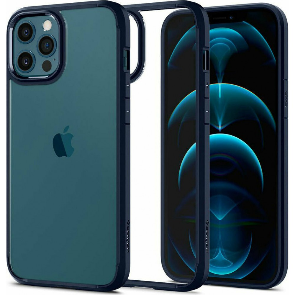Θήκη Spigen® Ultra Hybrid™ ACS02251 για iPhone 12 - 12 Pro - Navy Blue
