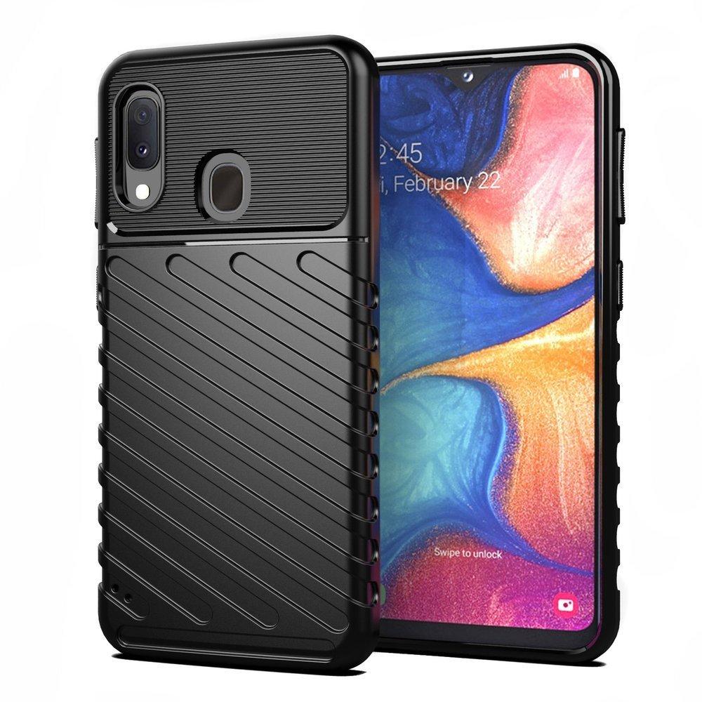 Θήκη Thunder Armor για Samsung Galaxy A20e - Μαύρο